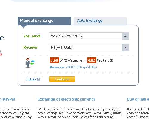 Paypal To Webmoney